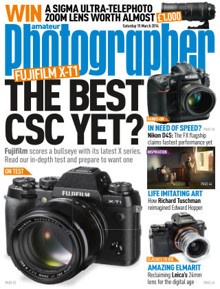 Amateur Photographer 15th March 2014