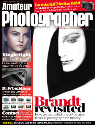 Amateur Photographer 13th September 2014