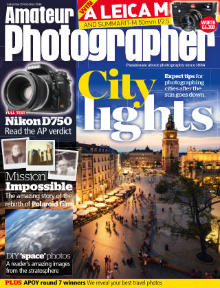 Amateur Photographer 25th October 2014