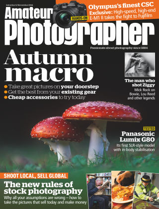 Amateur Photographer 12th November 2016