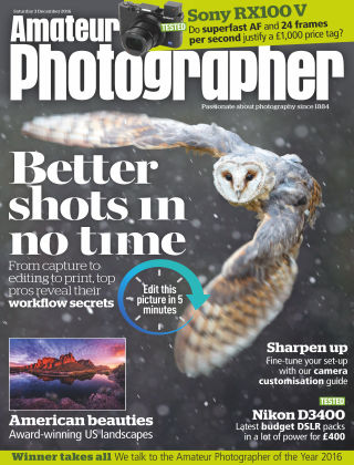 Amateur Photographer 3rd December 2016