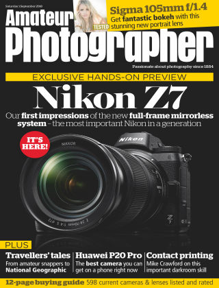 Amateur Photographer 1st September 2018