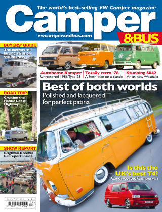 VW Camper & Bus Magazine January 2014