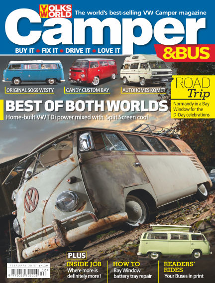 VW Camper & Bus Magazine February 05, 2015 00:00
