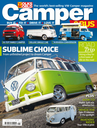 VW Camper & Bus Magazine June 2015