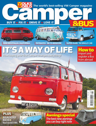 VW Camper & Bus Magazine August 2015
