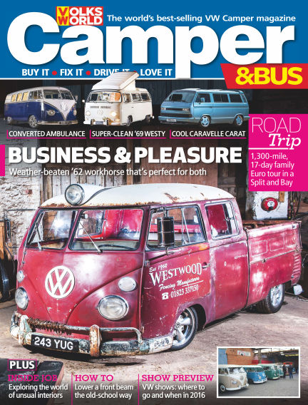 VW Camper & Bus Magazine February 04, 2016 00:00