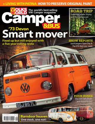 VW Camper & Bus Magazine September