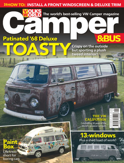 VW Camper & Bus Magazine October 03, 2019 00:00