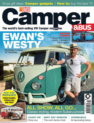 VW Camper & Bus Magazine January 2021