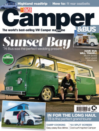 VW Camper & Bus Magazine Spring 2021