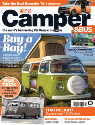 VW Camper & Bus Magazine April 2021