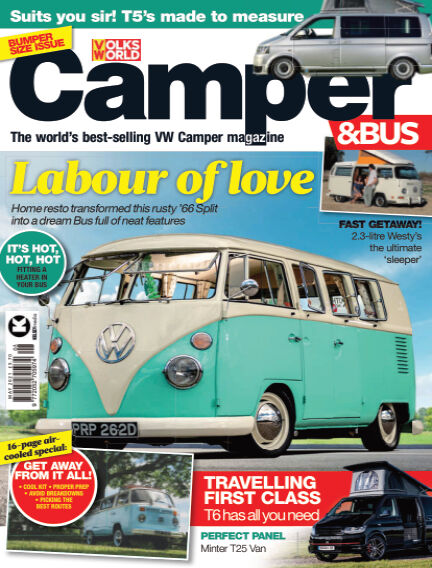VW Camper & Bus Magazine April 16, 2021 00:00