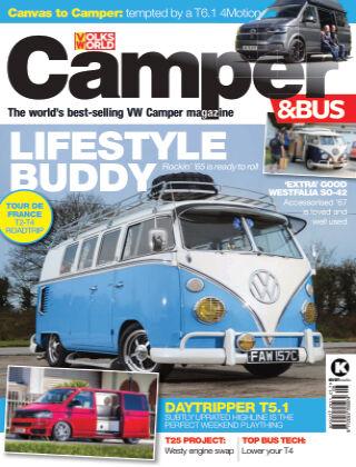 VW Camper & Bus Magazine August 2021