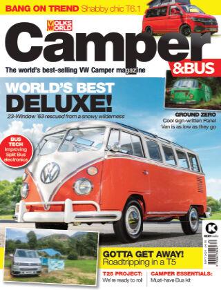 VW Camper & Bus Magazine September 2021