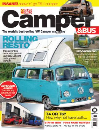 VW Camper & Bus Magazine October 2021
