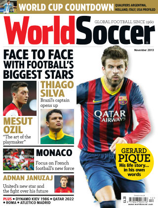 World Soccer November 2013