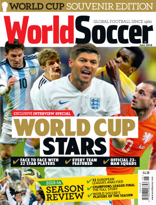 World Soccer June 2014