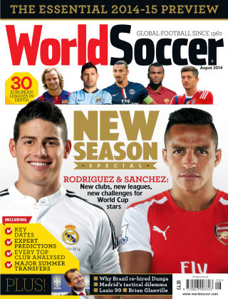 World Soccer August 2014