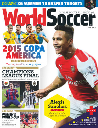 World Soccer June 2015