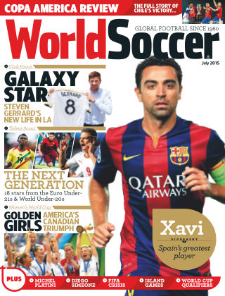 World Soccer July 2015