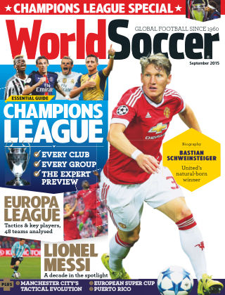 World Soccer September 2015