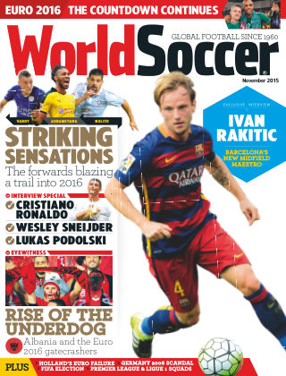 World Soccer November 2015