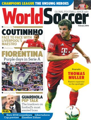 World Soccer February 2016