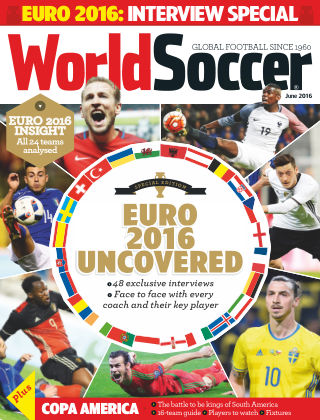 World Soccer June 2016