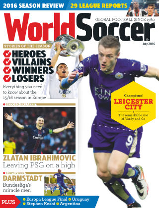 World Soccer July 2016