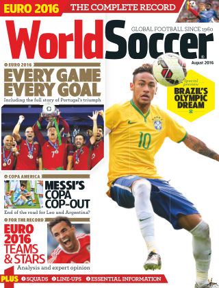 World Soccer August 2016