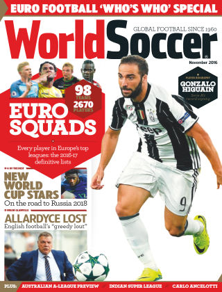 World Soccer November 2016