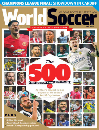 World Soccer Jun 2017