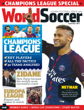 World Soccer Sep 2017