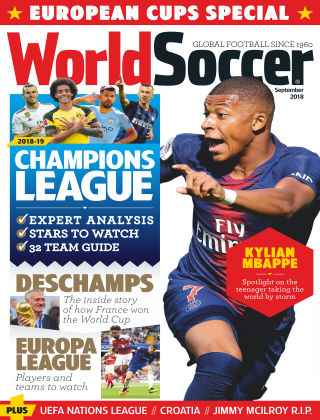 World Soccer September 2018
