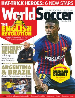 World Soccer Nov 2018