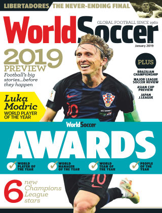 World Soccer Jan 2019