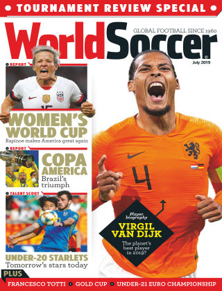 World Soccer Jul 2019