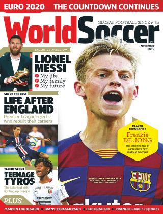 World Soccer Nov 2019