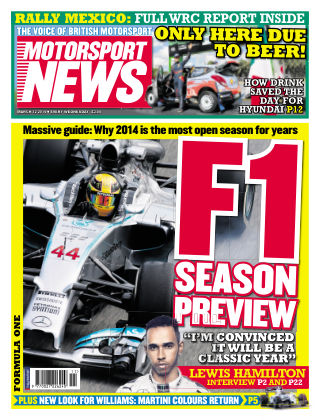 Motorsport News 12th March 2014
