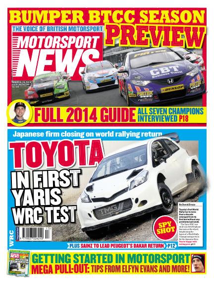 Motorsport News March 26, 2014 00:00
