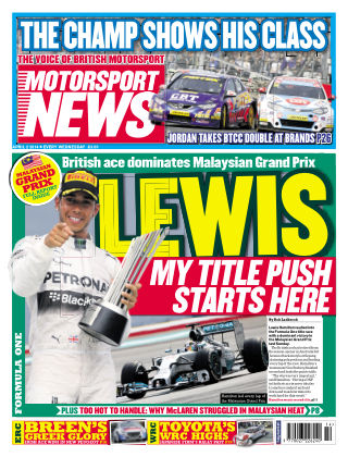 Motorsport News 2nd April 2014