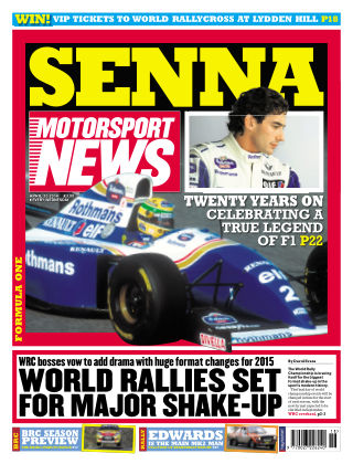 Motorsport News 30th April 2014