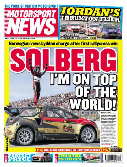 Motorsport News May 07, 2014 00:00