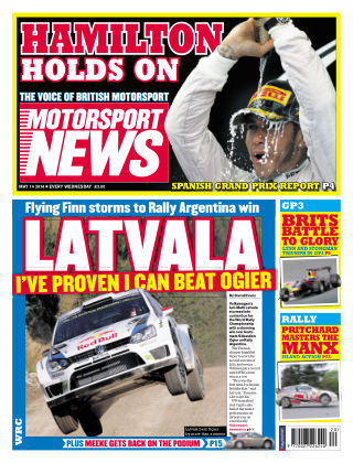 Motorsport News 14th May 2014