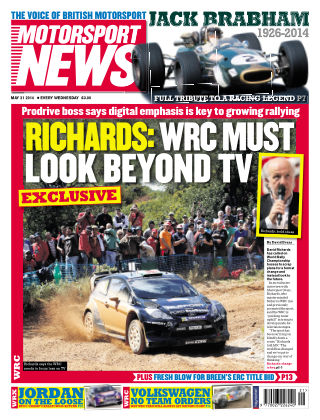 Motorsport News 21st May 2014