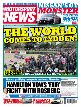 Motorsport News 28th May 2014