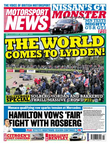 Motorsport News May 28, 2014 00:00