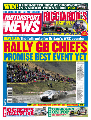 Motorsport News 11th June 2014