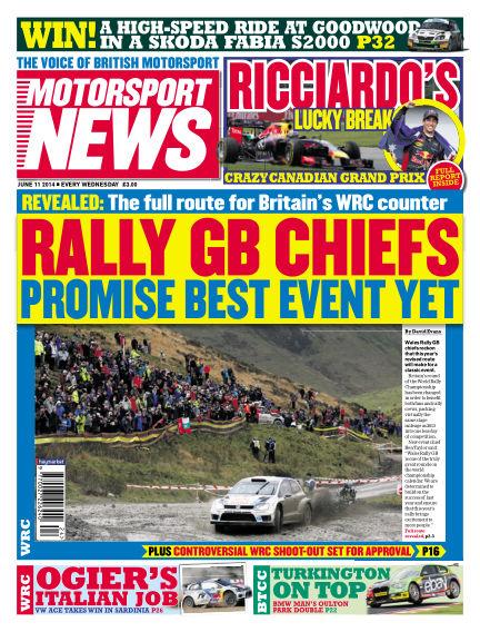 Motorsport News June 11, 2014 00:00